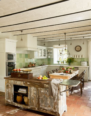 holiday cottages south of france kitchen