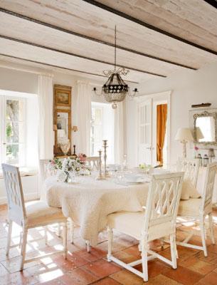 luxury rentals provence dinning room